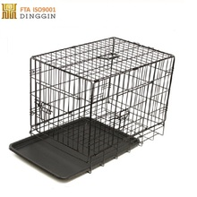 Wholesale foldable wire dog cage large metal pet cages