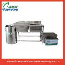 Easy Installation Grease Interceptor Automatic Grease Removal Unit for Restaurant Kitchens