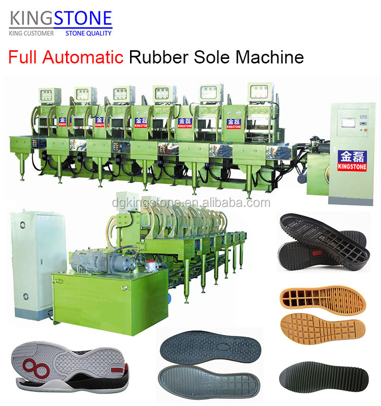 Rubber Sole Making Machine for Footwear and Pormotion JL-168