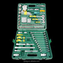 Combination Spanner Plastic Box 123 Pcs Socket Wrench Set
