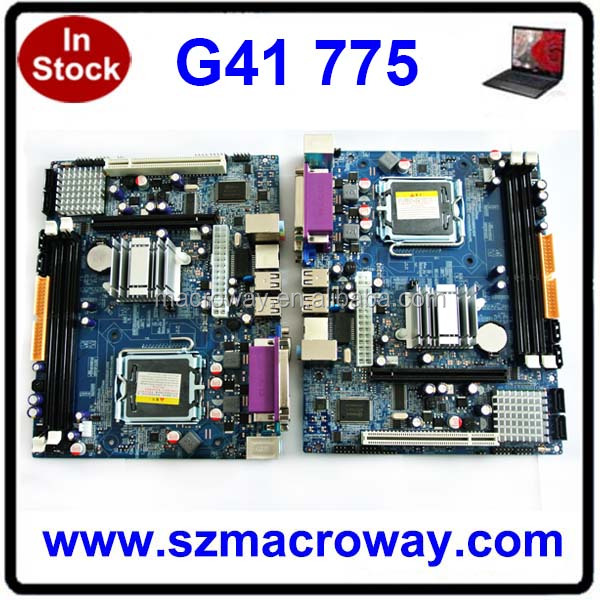 2016 Cheap G41 Desktop Motherboard LGA775 mainboard DDR3