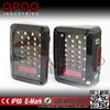 High Power Led Rear Brake Reverse Jeep Tail Light, Euro US Version 2007-2015 Jeep Tail Light