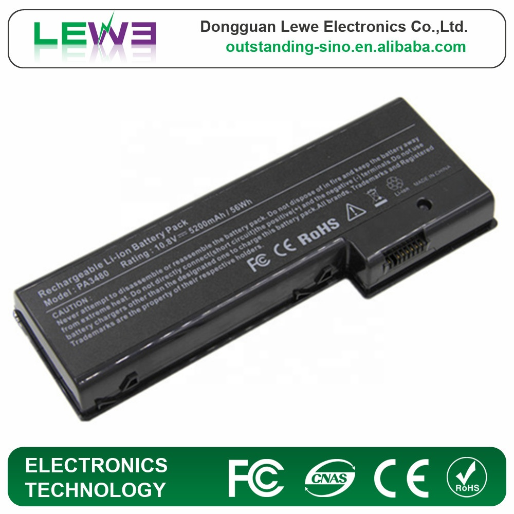 Rechargeable Laptop <strong>battery</strong> for Toshiba PA3479U-1BRS PA3480U-1BAS PA3480U-1BRS Satellite <strong>P100</strong> P105 Pro <strong>P100</strong> Series