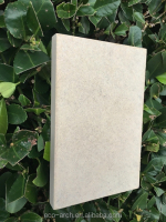 Fiber cement board siding board