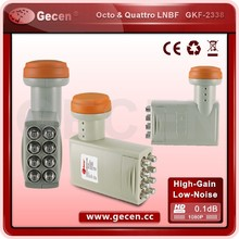 Gecen 3D Best Selling Digital Ku-Band Universal OCTO LNB/LNBF