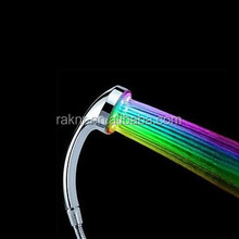 Three Colors Changing LED Bathroom Shower Head with Temperature Digital Display