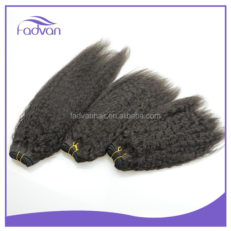 Unprocessed top quality cheap brazilian human hair extension full cuticle clip on hair extension