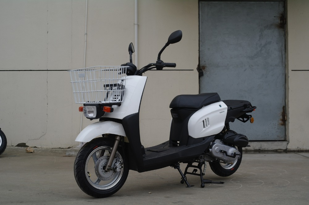EEC approved Delivery & Pizza 50cc Gas scooter (Exclsuved) from Riya Motor