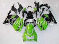 for kawasaki 250r ninja ex250 ex 250 2008-2009 250 ninja motorcycle 08-09 ninja 250r accessories green black