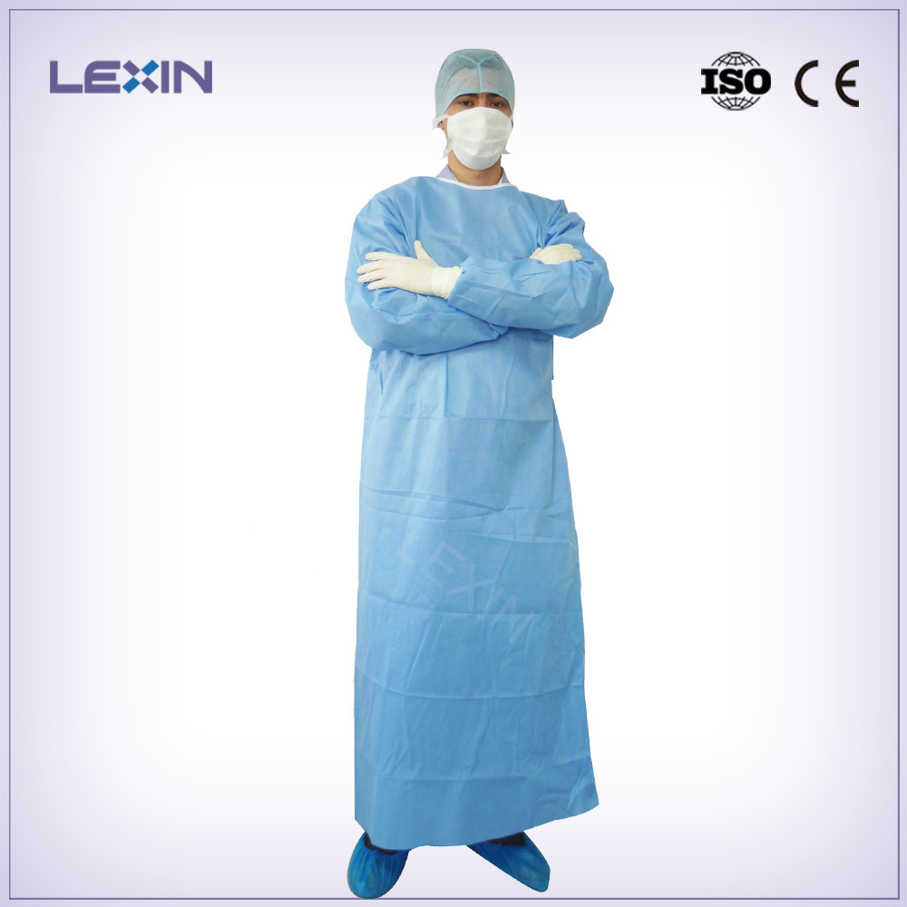 High performance sterile surgical disposable gown