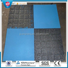 outdoor cheap tiles rubber playground paving