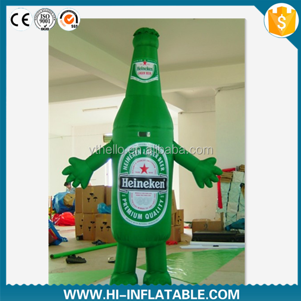 Good Quality Advertising Mode Inflatable Beer Bottle