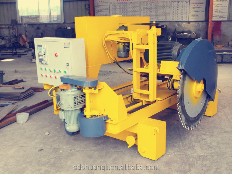 advanced automatic hollow core concrete cutting machine