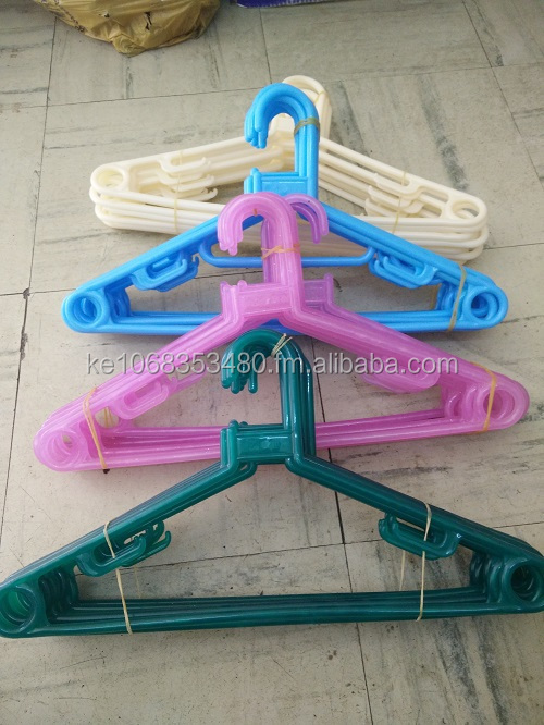 plastic Cloth hanger with swivel hook