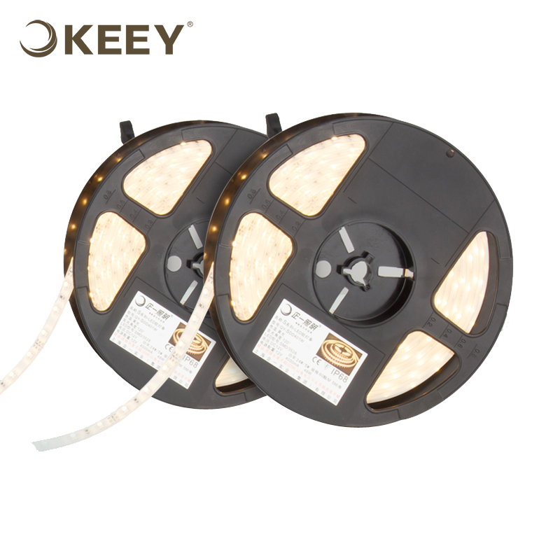 KEEY 3528 Highlight Led 8W Per Meter Black Light UV Strip Led Light 5m/set QYR4-DD401N