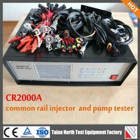 6 injectors can be tested one time CR2000A--common rail injector and pump auto test simulator