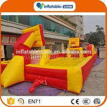 Factory price inflatable basketball court for kids basketball hoop inflatables
