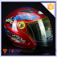 Quality guarantee wholesale red motorcycle helmet from manufacurer