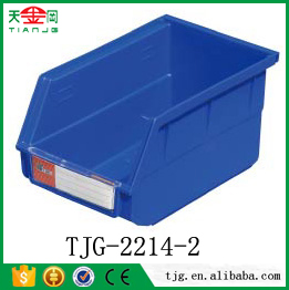 TJG Plastic storage box without lid used warehouse industrial