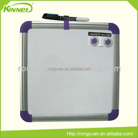 School supplies Promotional magnetic plastic frame portable whiteboard