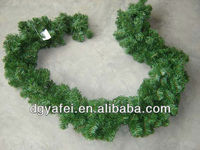 Cheap factory price plain artificial Xmas garlands
