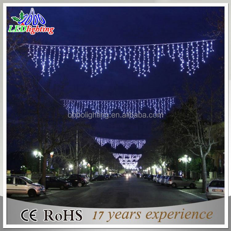 Christmas Decoration Bule Icicle LED Outdoot String Light