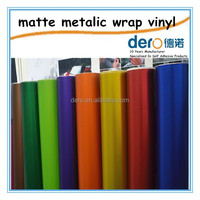 Dero Colorful Matt Metallic Car wrapping Vinyl film