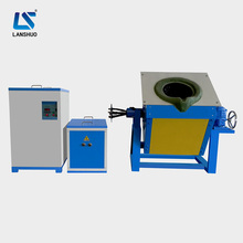 100kg medium frequency furnace with crucibles for melting steel