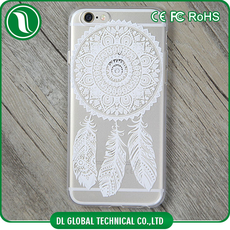 wholesale alibaba flexible mandala pattern printed tpu case for iphone 6 plus National designs printed case