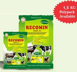 ANIMAL FEED SUPPLEMENTS ( RECOMIN GOLD AD 3 )