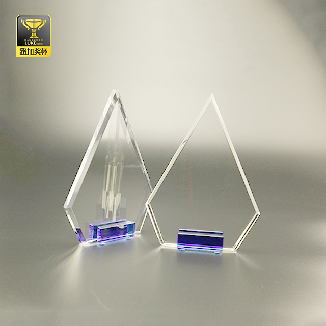 engraving design blank glass crystal awards memorial plaques