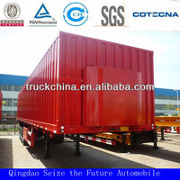 3 Axles Box Semi trailer For 20' &40' Container & Cargo