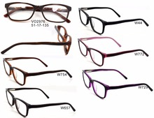 Laura Fairy Spectacle Korean Model Selling colorful acetate and Metal Optical Frames With Low MOQ Model VO2976