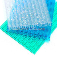 greenhouse plastic film anti dripping UV resistance PC greenhouse sheet