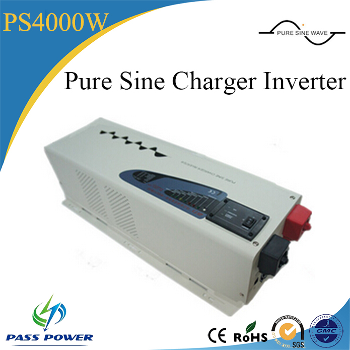 high quality low frequency intelligent 4000w 4kw pure sine wave solar power inverters with built-in charger