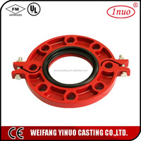 Grooved coupling Pipe Fitting flange fittings
