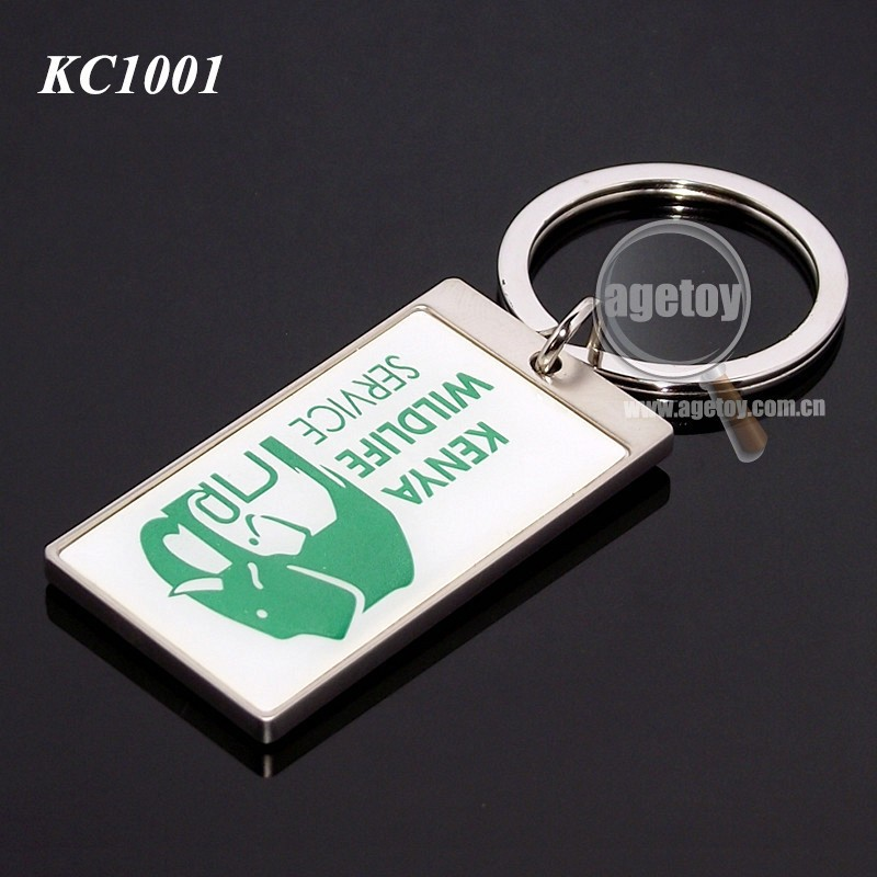 Kenya Wildlife Animal Photos Promotional Key Chain