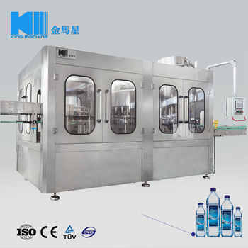 Automatic PET Bottle Mineral Water Filling Machine / Machinery / Equipment KING MACHINE