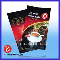 450g 500g 1kg Aluminum Foil Coffee Bag with Valve and Tin Tie Wholesale/Custom Printed Side Gusset Coffee Bag China Manufacturer