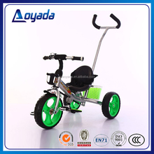 2016 new style smart child tricycle / tricycle kids with handle / big wheel pedal tricycle for kids