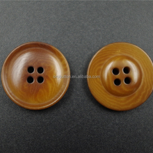 New design fashionable resin sewing buttons for fur coats