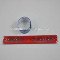 Hot sales steel spring slap band with high quality for promotion item