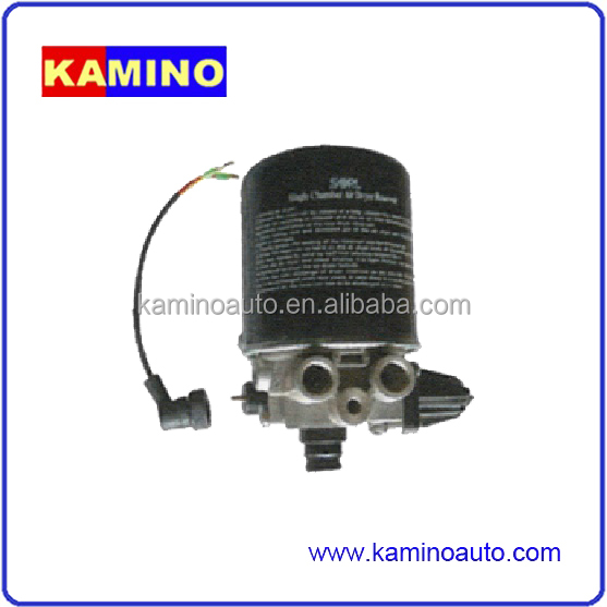 AIR BRAKE SYSTEM AIR DRYER FOR TRAILER 4324100880 UNL:12.0 Conn.: M27x1 Ports 1,21=M22X1.5,Ports 22,4:M12X1.5