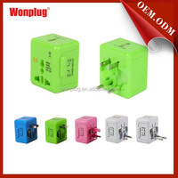 hot product universal philippines travel plug adapter with usb charger