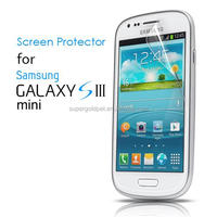 9H High Transparent and Anti-Scratch PET Screen Protector for Samsung Galaxy S3 Mini GT-I8190