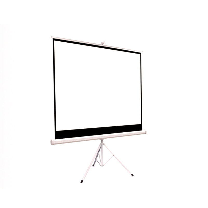 Free Samples 120' tripod projector screen for wholesale