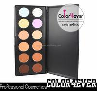 12 color concealer palette high quality under eye concealer professional makeup brush