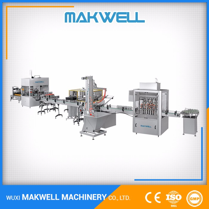 CE Certification Automatic Washing Soy Sauce Filling Equipment