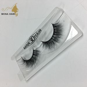 Pure Handmade 100% mink fur 3D eyelashes high quality eyelash extension lashes wholesale