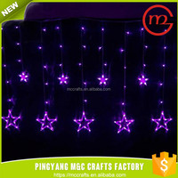 Well decorative cheap outdoor falling star led christmas lights